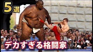 実在するデカすぎる格闘家ランキングTOP5!2メートル超えは当たり前!