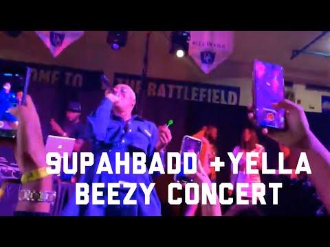YELLA BEEZY & SUPAHBADD HOMECOMING CONCERT @ DILLARD UNIVERSITY HOMECOMING VLOG 2019