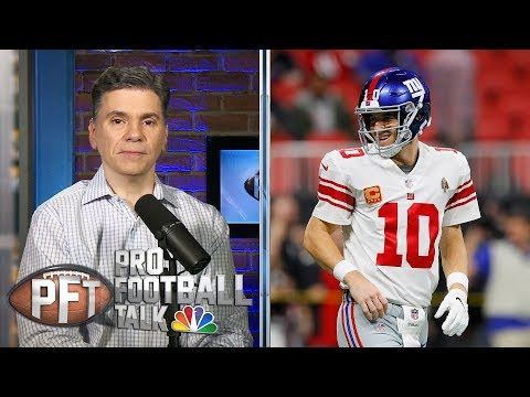 NFL word association: Eli Manning the clear Giants starter  Pro Football Talk  NBC Sports