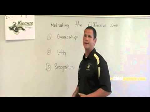 Motivating the Offensive Line