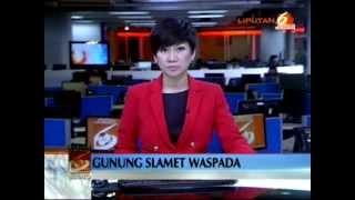 berita terbaru gunung slamet status meningkat menjadi waspada 2  !!!
