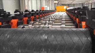 UNIMAK Machinery - Grain Steel Silo Sidewall / Bodysheet Rollforming Line