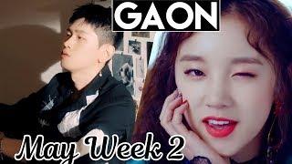 top 100 gaon kpop chart 2018 may week 2