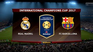 International champions cup 2017 real madrid vs barcelona el clasico miami 29 july ● app onefootball: http://bit.do/fpirelli7 ► *subscribe*: http://bit....