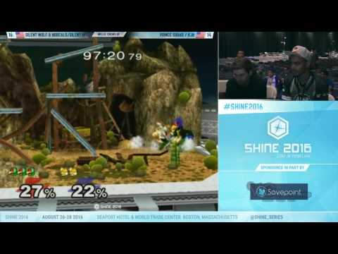 Shine 2016 SSBM – Prince Squad Vs. Silent Wolf and the NorCals – Melee Crews Grand Finals