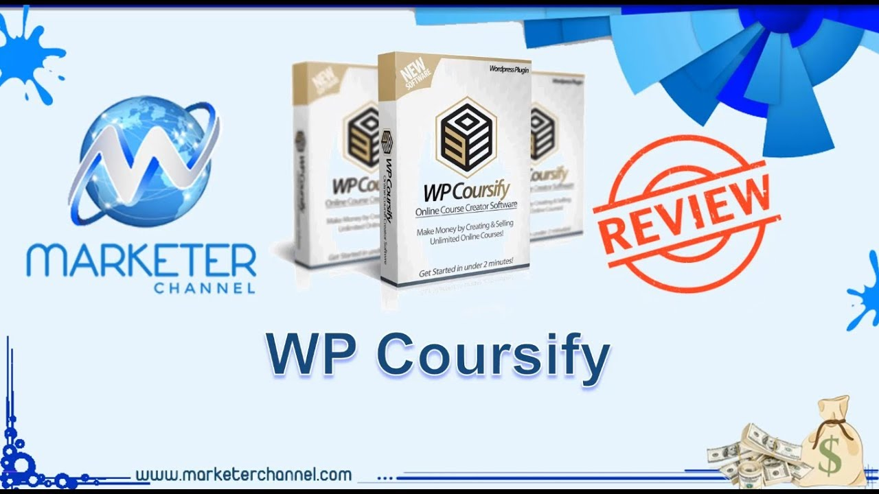 wp coursify review - create your own udemy like course selling site to publish and sell unlimited on