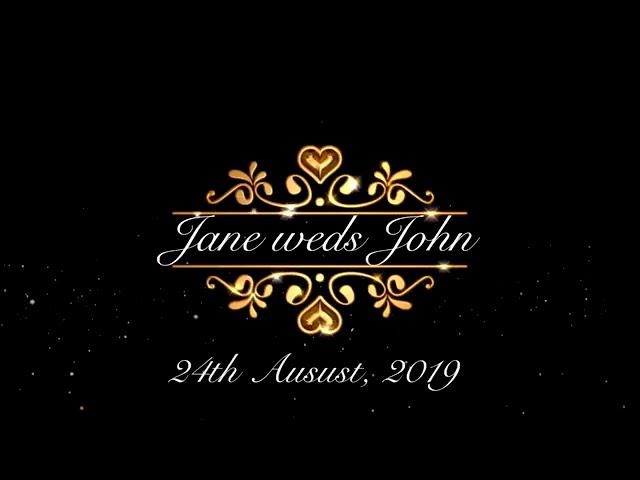 Jane muthoni full wedding highlights