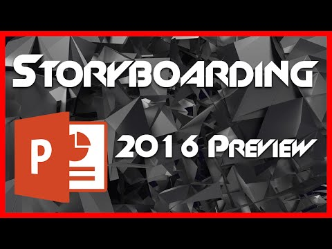 Storyboarding - 14 - Introduction to PowerPoint 2016 Preview Tutorial