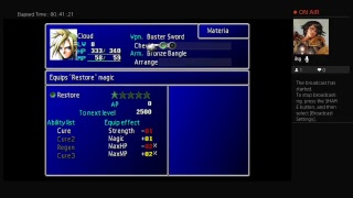 Let's play Final Fantasy 7