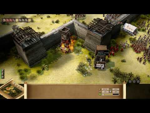 Praetorians HD Remaster - Final Fortress Assault (4K 60fps) |
