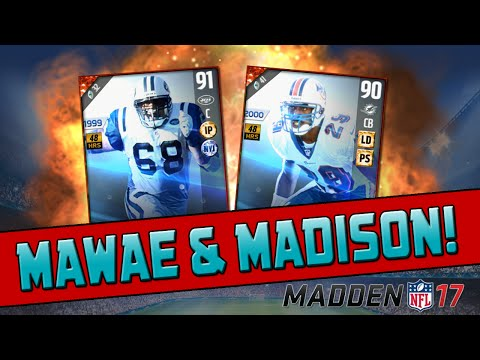 Kevin Mawae & Sam Madison! | Madden 17 Ultimate Team - Legends Pack Opening