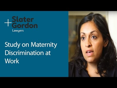Study on Maternity Discrimination at Work