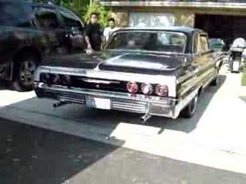2008 Impala Ss For Sale >> Old 1964 Chevy Impala SS Exhaust Rumble!! - YouTube