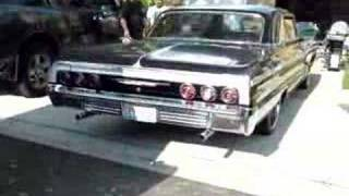 Old 1964 Chevy Impala SS Exhaust Rumble!!