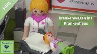 Playmobil Film Deutsch KRANKENWAGEN INS KRANKENHAUS ♡ Playmobil Geschichten mit Familie Miller