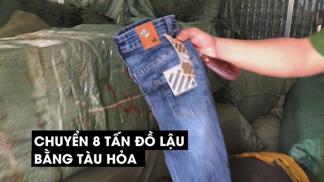Chở 8 tấn quần áo, giày dép lậu Trung Quốc về Đà Nẵng bằng tàu hỏa
