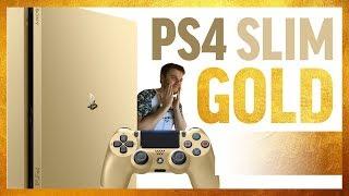 видео Золотые консоли Sony PS4 и Xbox One