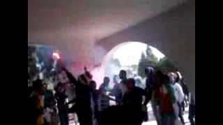 احتفالات في جامعة بسكرة عقب تاهل الجزائر للمونديال-/22014