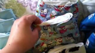 Cloth Diaper Stash For Toddler & Baby Twins