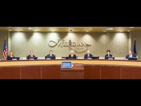 Meridian City Council Mtg - Oct. 4, 2016