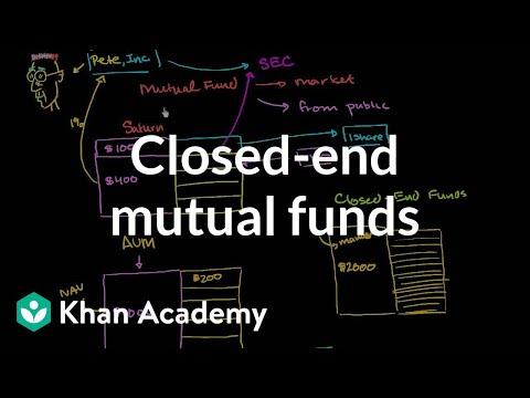 Closed-end Mutual Funds  | Finance & Capital Markets | Khan Academy