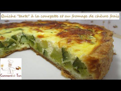 """quiche-""""tarte""""-à-la-courgette-et-au-fromage-de-chèvre-frais-par-commentfait-ton"""