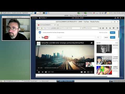 Fedora 25 béta - YouTube