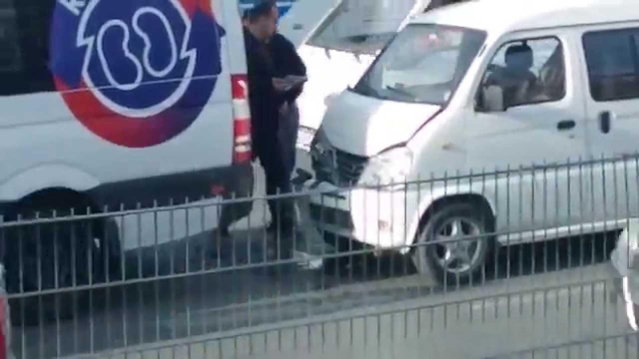 çin Malı Araba Ile Alman Markası Araç Kazası Youtube