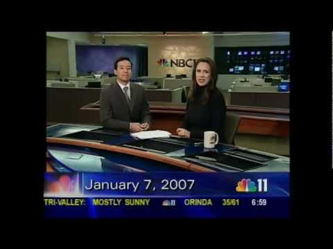 KNTV NBC11 News - The Bay Area Sunday at 7am Open (2007)