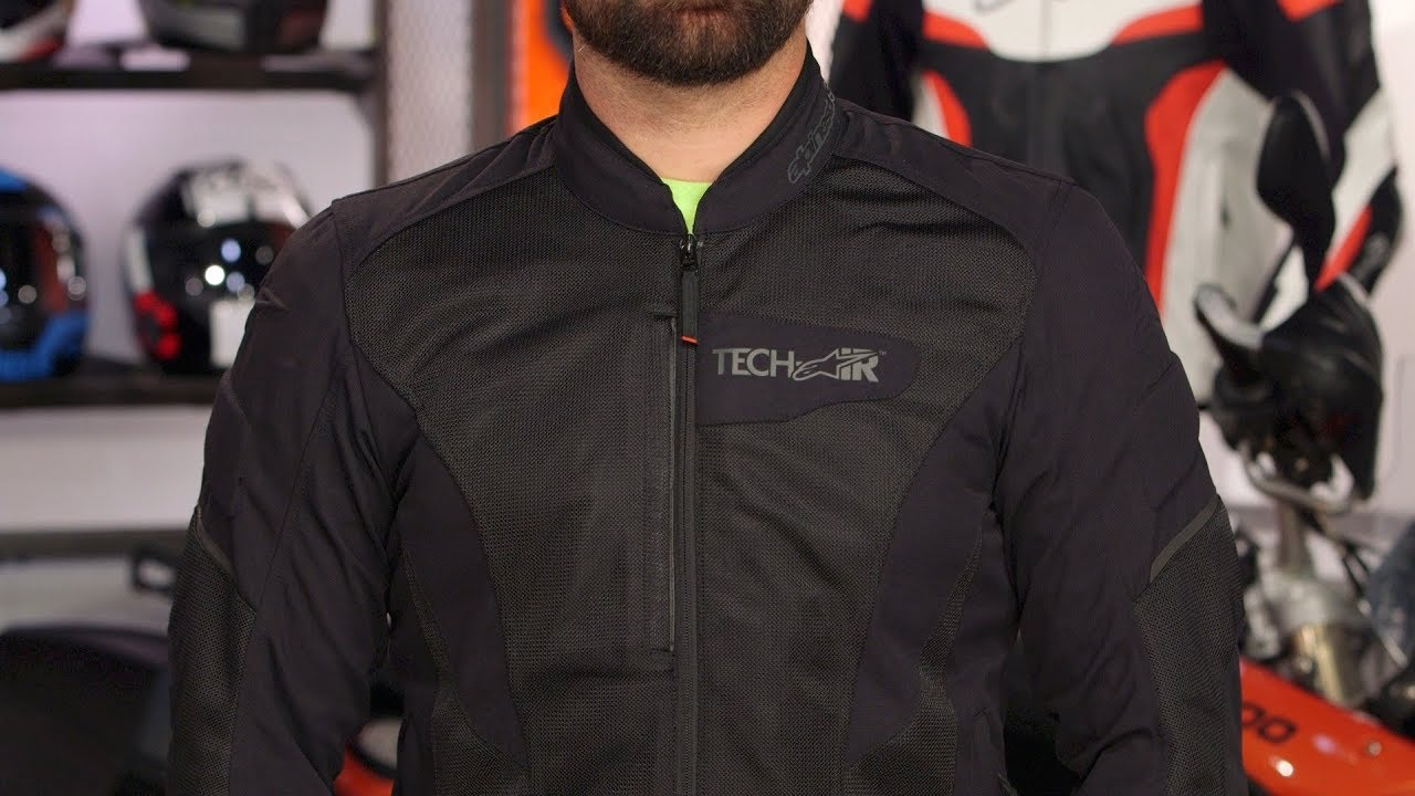 alpinestars viper jacket for tech air review at youtube. Black Bedroom Furniture Sets. Home Design Ideas