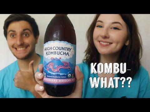 TRYING CRAZY KOMBUCHA DRINKS