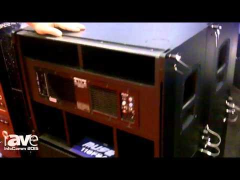 InfoComm 2015: FBT Features Muse 118FSA Subwoofer