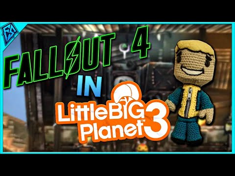 Fallout 4 in LittleBigPlanet 3 | Community Level