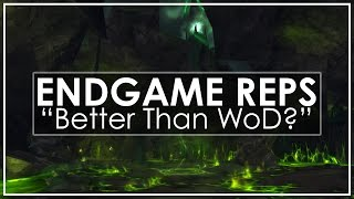 WoW Legion's Endgame Reputations - Do They Improve on WoD?