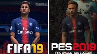 FIFA 19 VS PES 2019 | Graphics Comparison