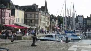 Radtour 2014 Teil5 Normandie Cabourg Houlgate Deauville Honfleur