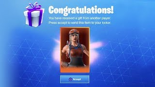 My new one of a kind Renegade Raider *RARE* Fortnite Skin