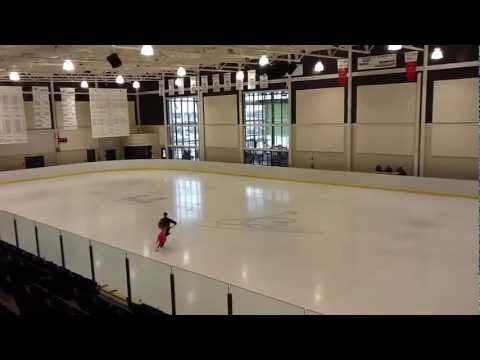 Figure skating test- American Waltz