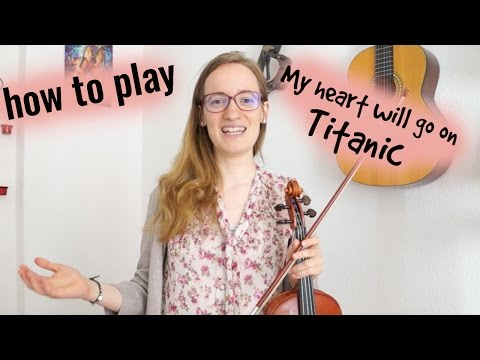 My Heart Will Go On - Titanic (how to play) - Easy Violin Tutorial