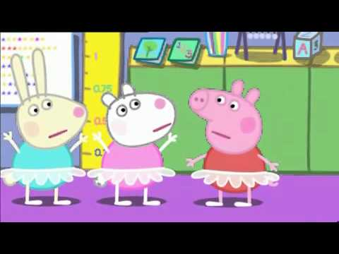 Świnka Peppa - Ballet Lessons