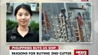WANG LULU ON PHILIPPINES BOOKS 2ND US PATROL SHIP CCTV News Mp3