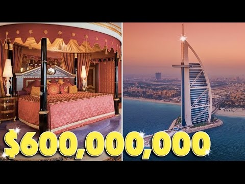 STAYING AND EATING AT $600,000,000 RESORT! (Burj al Arab, Dubai)