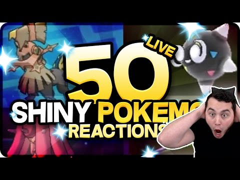 50 AMAZING SHINY POKEMON REACTIONS! Pokemon Sun and Moon Shiny Montage!