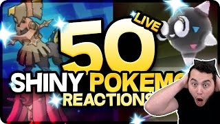 50 AMAZING SHINY POKEMON REACTIONS! Pokemon Sun and Moon Shiny Montage!