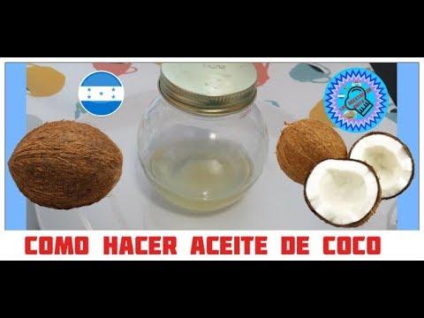 como hacer aceite de coco las recetas de anita