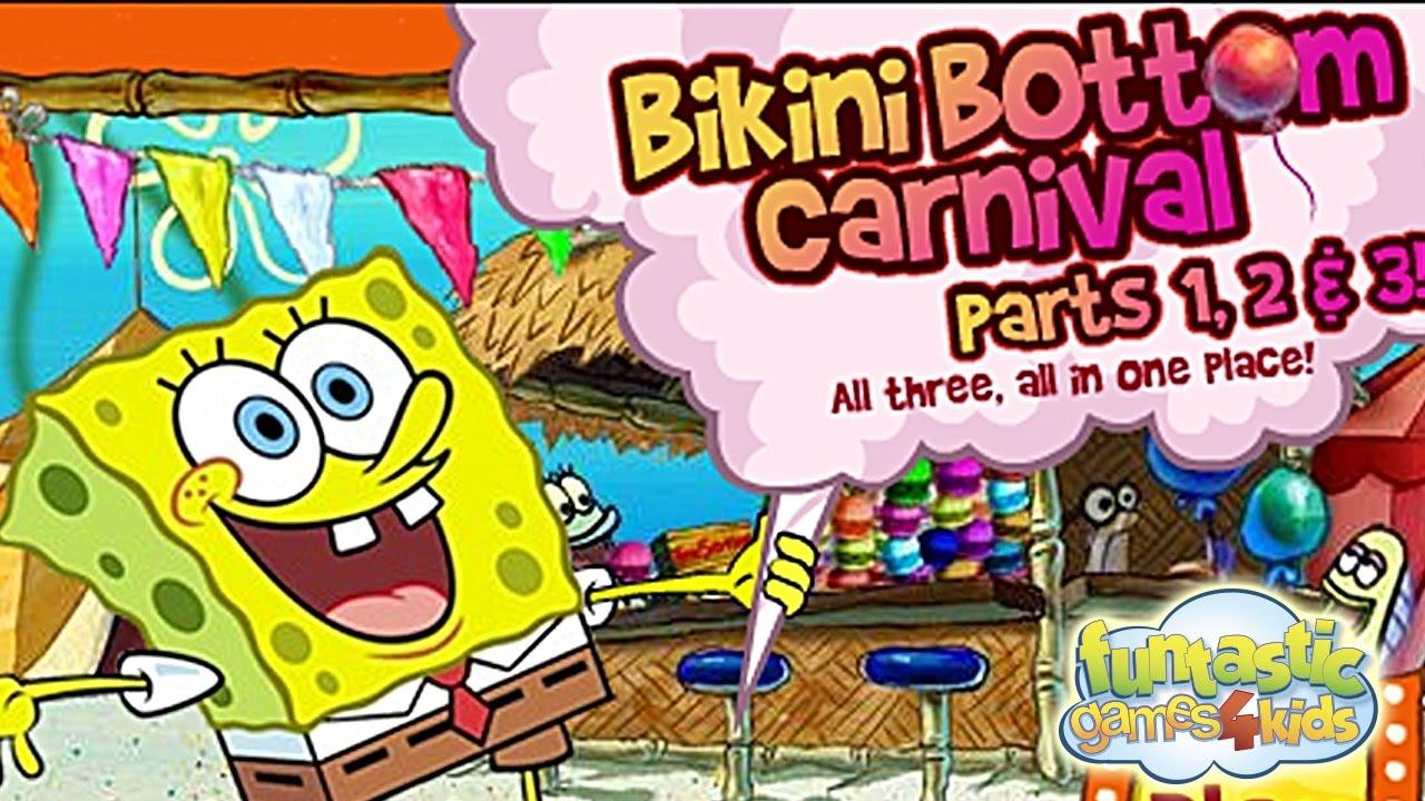 Bob esponja los alborotadores de fondo bikini