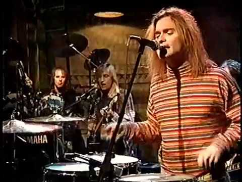 Jellyfish -  All I Want Is Everything (Live On Letterman 1990)