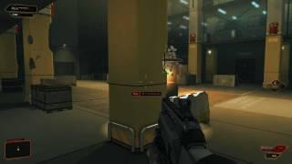 Бой против Лоуренса Барретта первого босса Сложность Настоящий Deus Ex Give Me Deus Ex  максимальная Тип прохожд