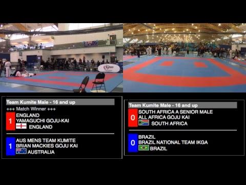 7th Karate-Do Goju-Kai Global Championships / TATAMI 1&2 / DAY 2