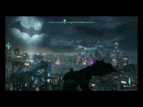 Batman: Arkham Knight. Ambient Gotham Rooftop Soundtrack